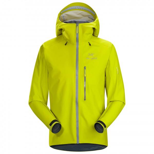 Arc´teryx - Alpha FL Jacket Hardshelljacke Gr S;XL grün;rot;grau
