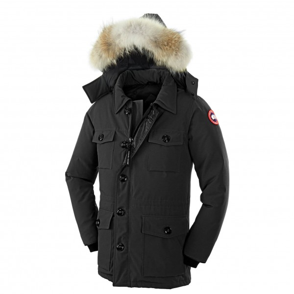 Canada Goose - Banff Parka - Mantel Gr S schwarz Preisvergleich