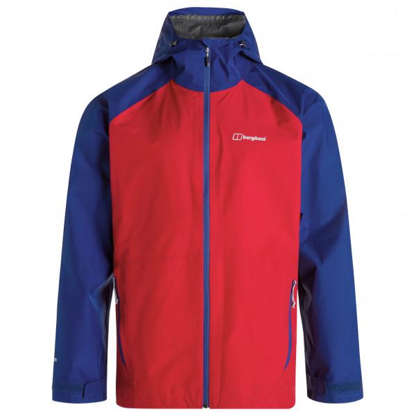 Berghaus - Paclite 2.0 Shell Jacket - Regenjacke Gr XXL rot/blau 4-22055CU4