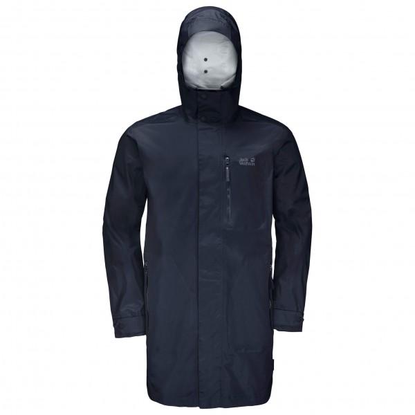 Jack Wolfskin - Crosstown Raincoat Mantel Gr 3XL;L;M;S;XL;XXL schwarz
