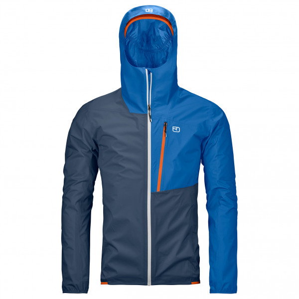 Ortovox - 2.5L Civetta Jacket - Regenjacke Gr L blau 7025100028