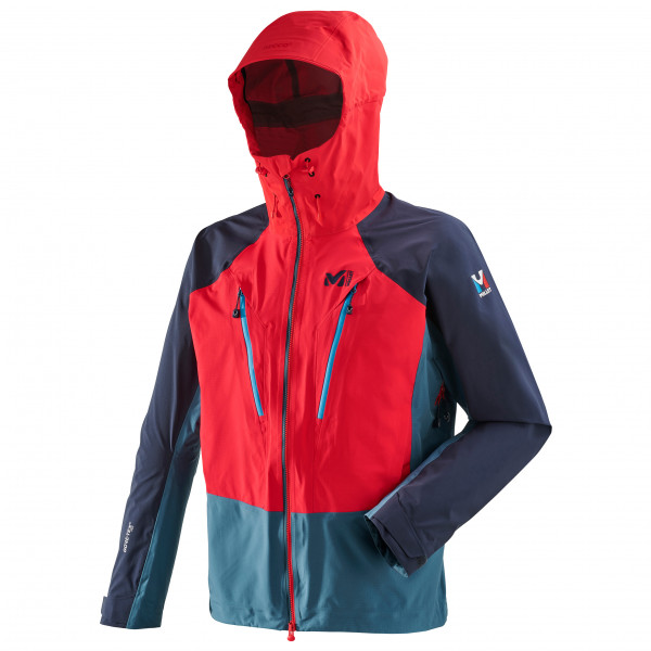 Millet - Trilogy V Icon Dual Gtx Pro Jacket - Waterproof Jacket Size Xl  Red/blue/black