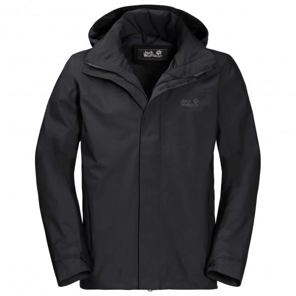 Jack Wolfskin Highland Jacket Hardshelljack maat L Short zwart