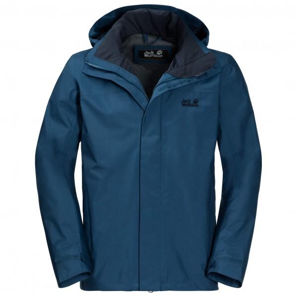 Jack Wolfskin Highland Jacket Hardshelljack maat L Short blauw-zwart