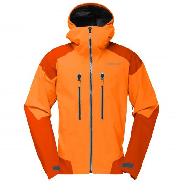 Norrøna - Trollveggen Gore-Tex Pro Jacket - Hardshelljacke Gr M orange/rot
