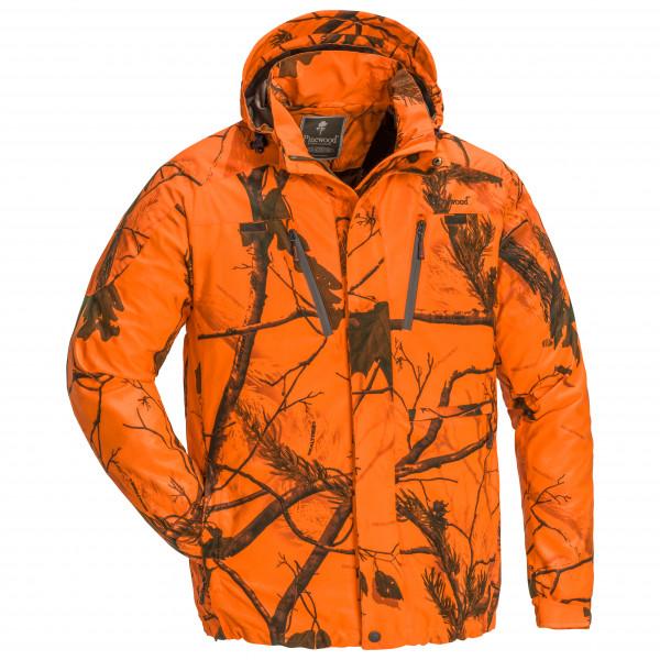 Pinewood - Reswick Camou Jacke - Regenjacke Gr M orange/braun 1-56780929006