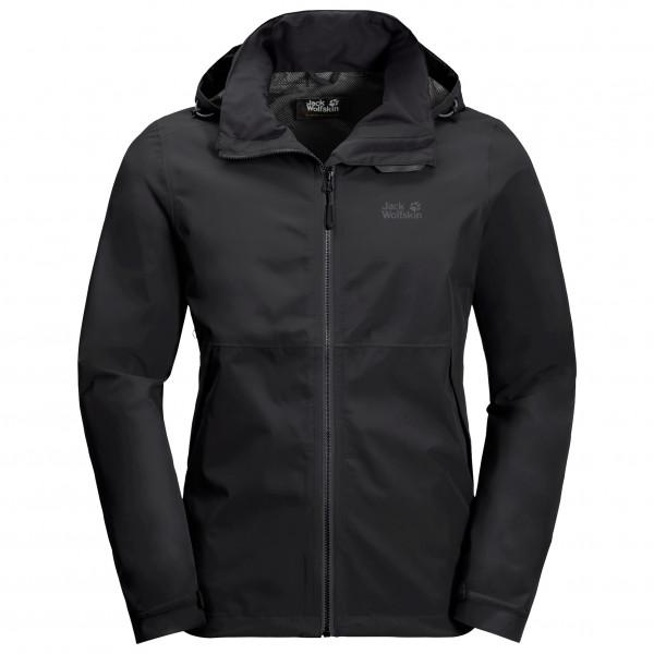 Jack Wolfskin - Evandale Jacket - Waterproof Jacket Size Xl  Black