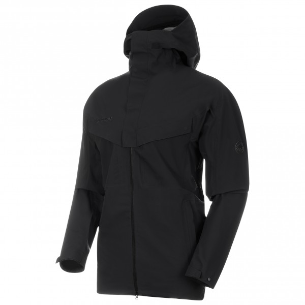 Mammut - Zinal HS Hooded Jacket - Regenjacke Gr XL schwarz Preisvergleich
