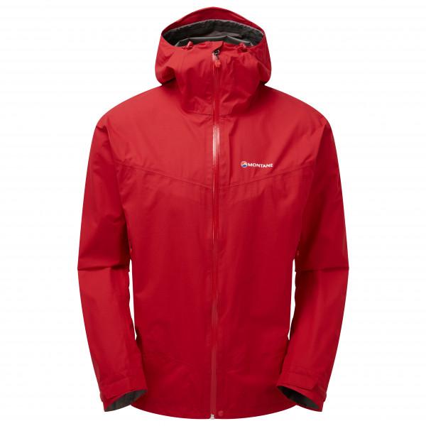 Montane - Pac Plus Jacket - Regenjacke Gr L rot MPPLJALPN08N