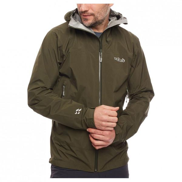 Rab - Meridian Jacket - Waterproof Jacket Size Xl  Black/olive
