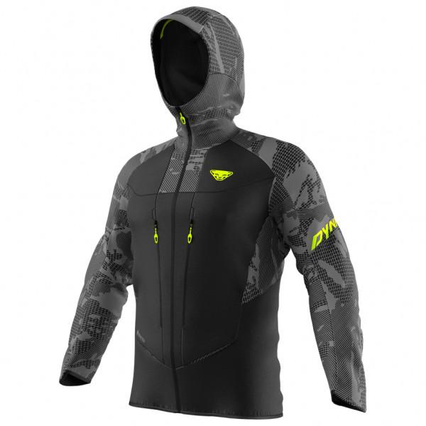 Dynafit - TLT Camo GTX Jacket - Regenjacke Gr L;XL schwarz/grau 08-0000071418