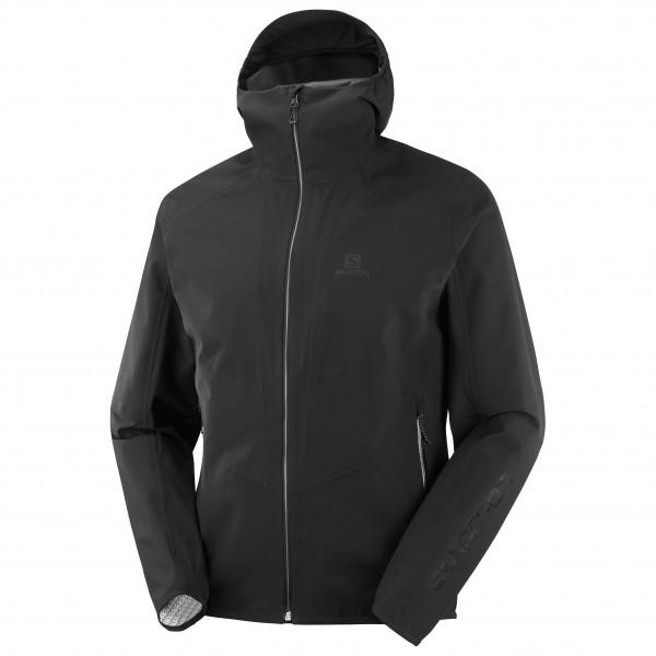 Salomon - Outline Jacket - Regenjacke Gr S schwarz LC1380600