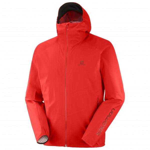 Salomon - Outline Jacket - Regenjacke Gr XXL rot LC1509000