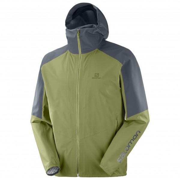 Salomon - Outline Jacket - Regenjacke Gr S grün/oliv LC1508900