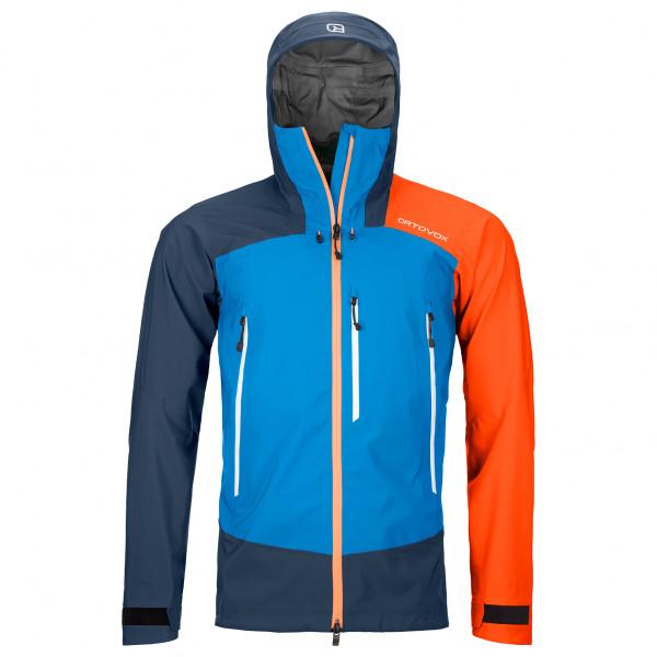 Ortovox - Westalpen 3L Jacket - Regenjacke Gr L;M;S;XL;XXL rot;blau 70254