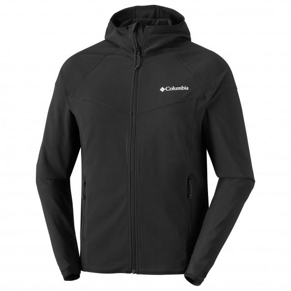 Columbia - Heather Canyon Jacket - Softshell Jacket Size L - Regular 27 5  Black