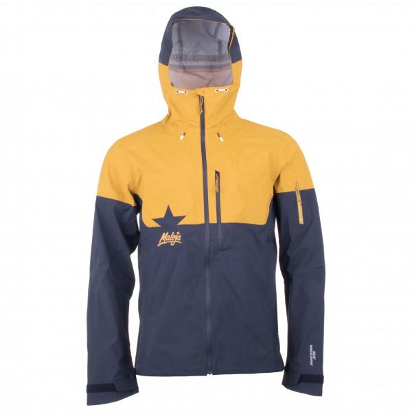 Maloja - Mount HoodM. Softshelljacke Gr XL blau/orange/schwarz
