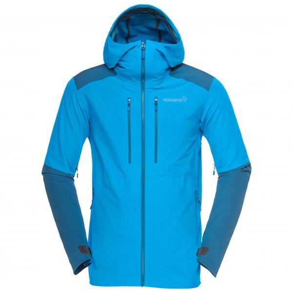 Norrøna - Trollveggen Flex1 Jacket Softshelljacke Gr L;M;S;XL grau/schwarz;blau