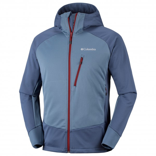 Columbia - Steel Cliff Hooded Softshell Jacket Gr L blau Preisvergleich