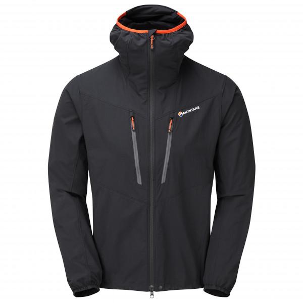 Montane - Alpine Edge Jacket - Softshell Jacket Size L  Black