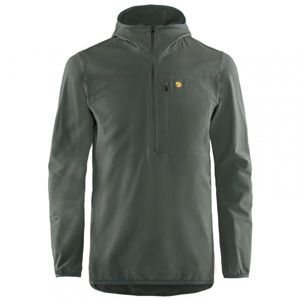 Fjllrven - Bergtagen Stretch Half Zip - Softshell Jacket Size M  Black/grey/olive