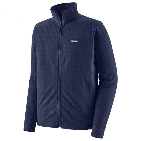 Patagonia - R1 TechFace Jacket - Softshelljacke Gr M blau 83580-CNY-M