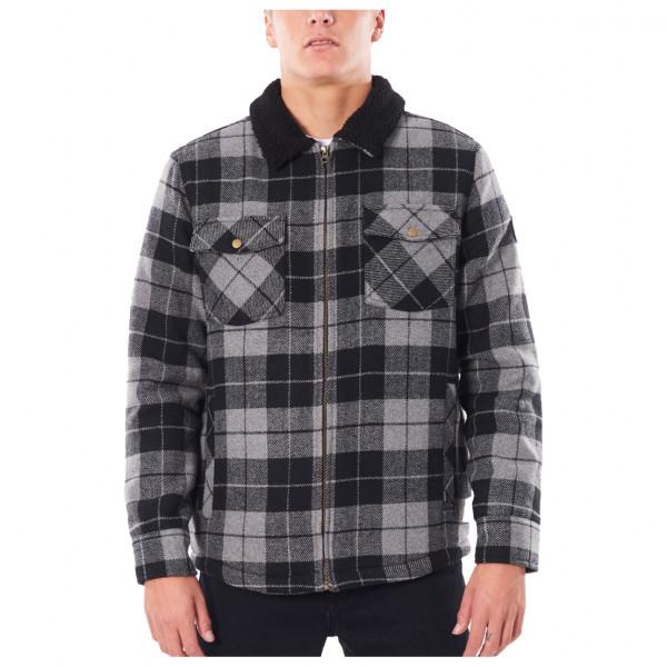Rip Curl - Logging Jacket - Freizeitjacke Gr L;M;S schwarz/grau;rot/schwarz CJKBC9