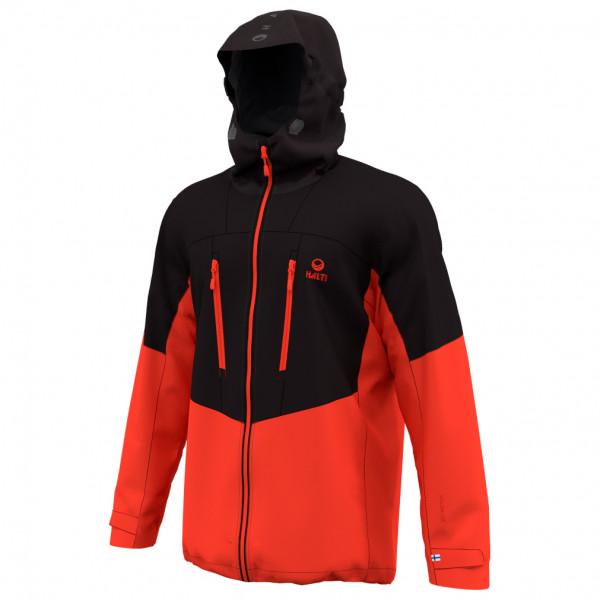 Halti - Pallas Hybrid Ii Jacket - Softshell Jacket Size L  Red/black