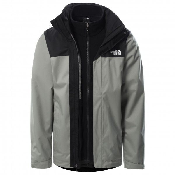 The North Face - Evolve Ii Triclimate Jacket - 3-in-1 Jacket Size S  Grey/black