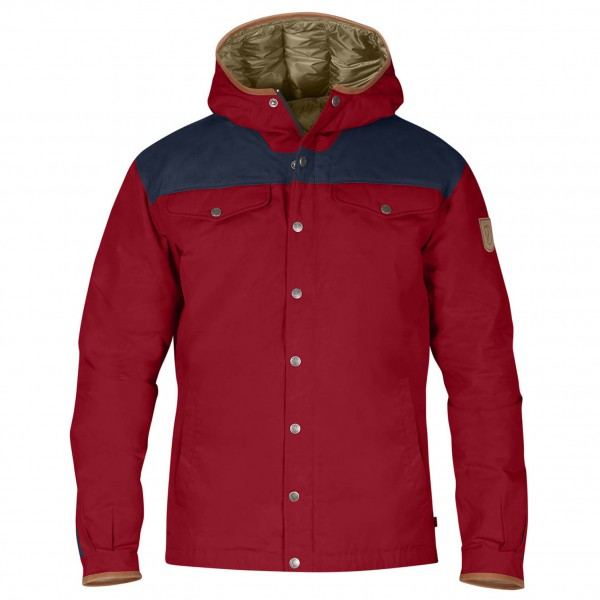 Fjällräven - Greenland No.1 Down Jacket Winterjacke Gr S rot