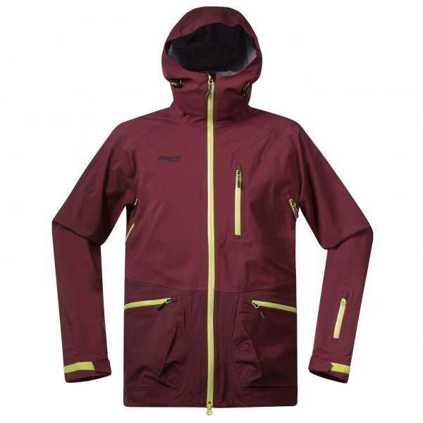 Myrkdalen Jacket - Skijacke Gr L rot/lila