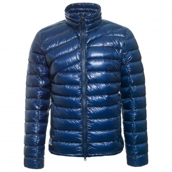 Purity Lightweight Down Jacket - Daunenjacke Gr XL blau/grau