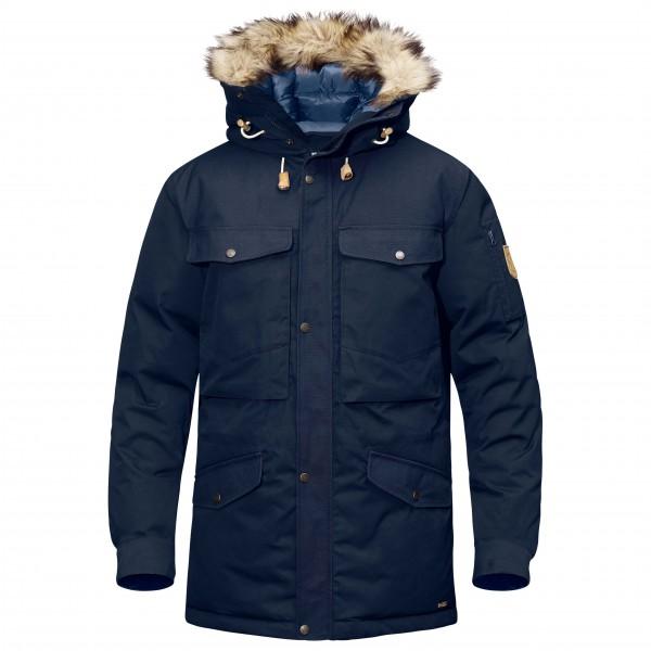 Fjällräven - Singi Down Jacket - Daunenjacke Gr XL blau/schwarz