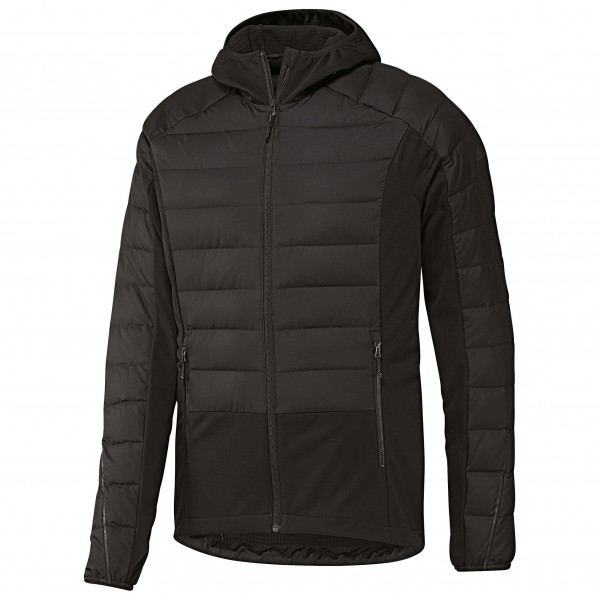 Hybrid Down Jacket - Daunenjacke Gr 50 schwarz