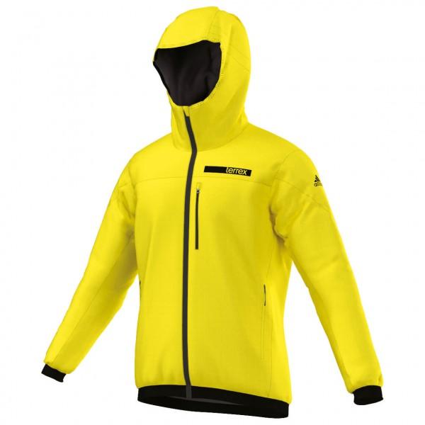 adidas TX Ndosphere Flex Hooded Jacket Synthetisch jack maat 52 geel