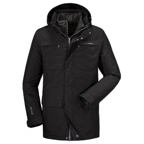 Schöffel - 3in1 Jacket Groningen - Doppeljacke Gr 56 schwarz 21604-9990