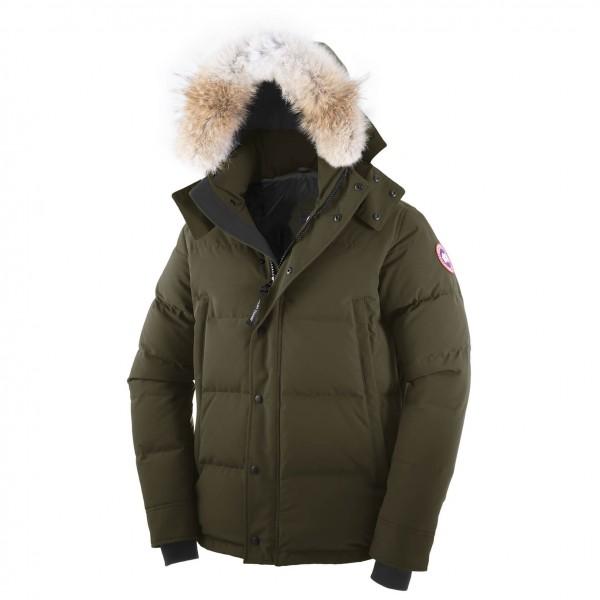 Canada Goose - Wyndham Parka - Winterjacke Gr XS schwarz Preisvergleich