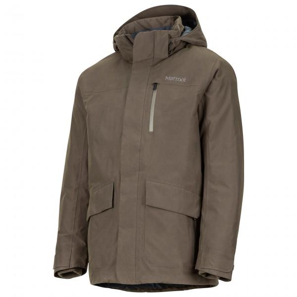 Marmot - Yorktown Featherless Jacket Winterjacke Gr L;M;S;XL schwarz;braun