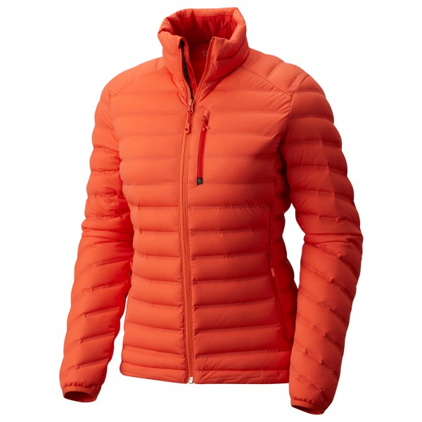 Mountain Hardwear - Women's Stretchdown Jacket Gr S rot