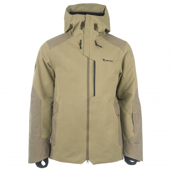 Rip Curl - Search Jacket - Skijacke Gr M beige/grau