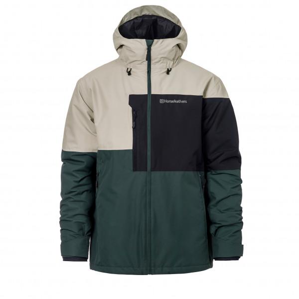 #Horsefeathers – Mallard Jacket – Skijacke Gr L;S;XL schwarz;schwarz/grau;schwarz/gelb#