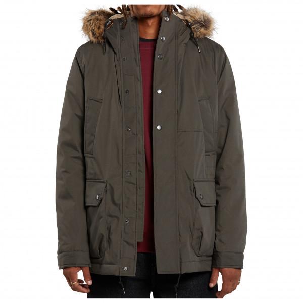 Volcom - Lidward 5K Jacket - Winterjacke Gr S braun/schwarz A1732013LED_S
