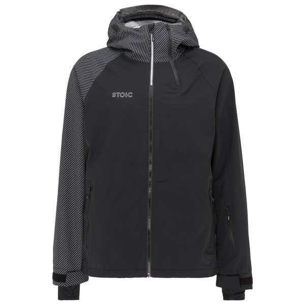Stoic - 3l Merinoshell Ullvist. Jacket - Ski Jacket Size Xxl  Black