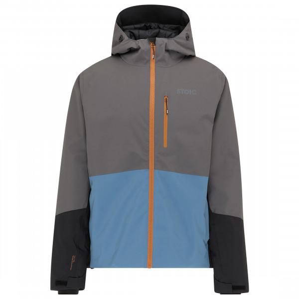 Image of Stoic MountainWool VallrunSt. Ski Jacket Skijacke Gr 3XL grau/schwarz/blau