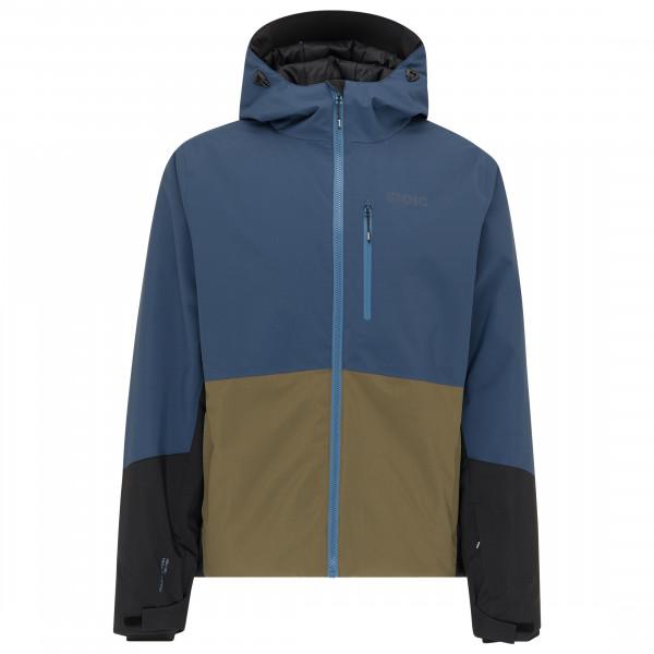 Image of Stoic MountainWool VallrunSt. Ski Jacket Skijacke Gr 3XL blau/oliv/schwarz