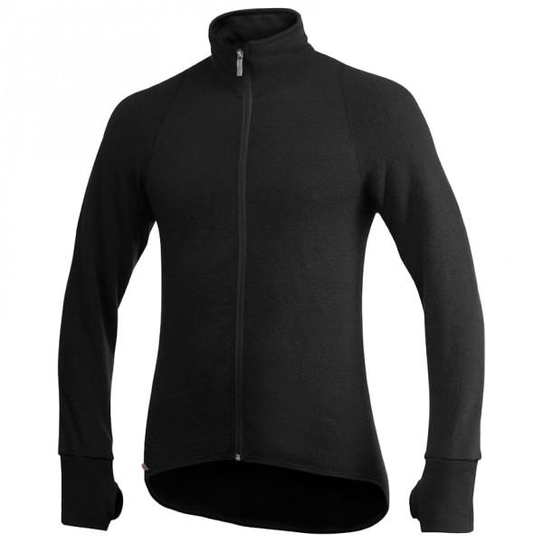 Woolpower - Full Zip Jacket 600 - Wool Jacket Size L  Black