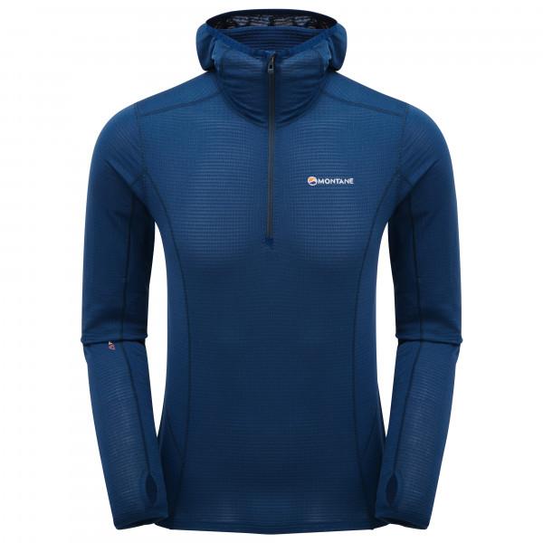 Montane - Allez Micro Hoodie - Fleece Jumper Size Xxl  Blue