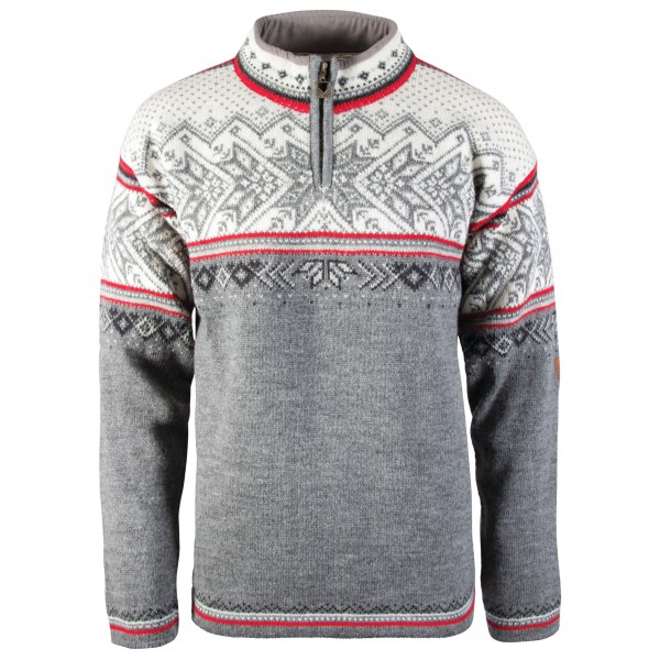 Dale of Norway - Vail - Wollpullover Gr L grau 90331-T-L