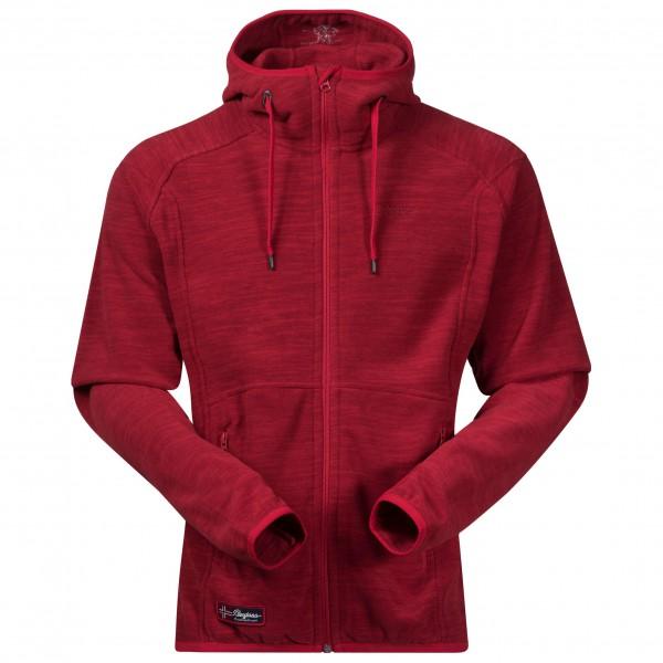 Bergans - Hareid Jacket - Fleecejacke Gr XXL rot