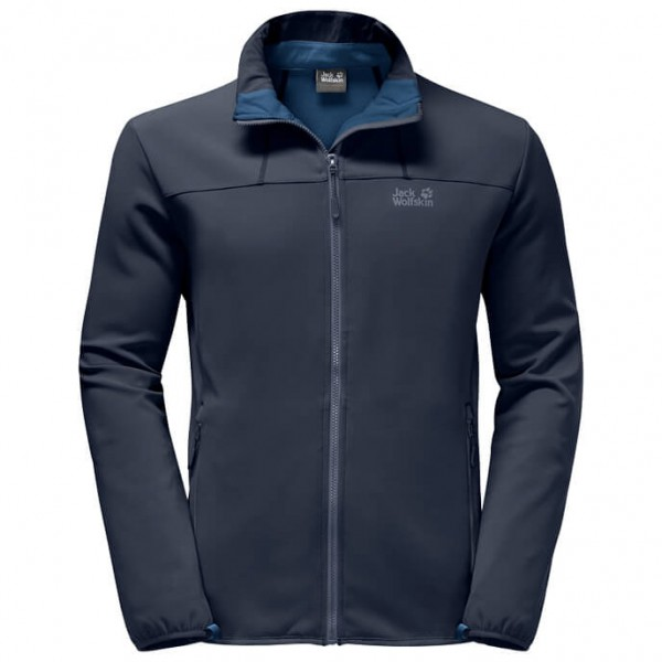 Jack Wolfskin Element Altis Softshelljack maat 3XL zwart